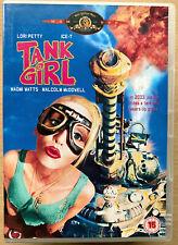 Tank Girl DVD 1995 Jamie Hewlett Post-Apocalypse Sci-Fi Cult Film Movie Classic