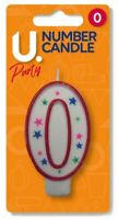 Birthday Cake Toppers Number Candles Party Candle Numbers Girl Boy 0123456789 !!