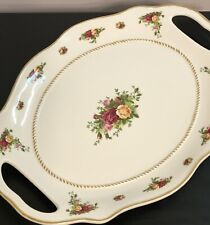 Royal Albert Old Country Roses Extra Large Oval Serving Platter with Handles