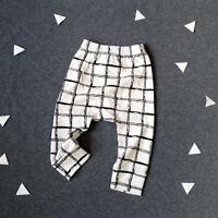 Kids Baby Boys Girls Harem Pants Cotton Trousers Bottoms PP Leggings Sweatpants