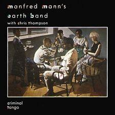 Manfred Mann 's Earth Band Criminal Tango (1986, & Chris Thompson) [CD ALBUM]