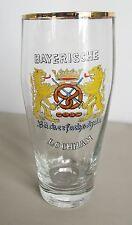 "Altes emailiertes dickes Kantglas/Bierglas  ""Bay.Bäckerfachschule Lochham"""
