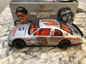 1995 Action Dale Earnhardt #3 Silver Select GM Goodwrench NO PARTS 1/24