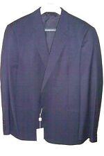 46S Navy Blazer Slim GIORGIO ARMANI  Made in Italy Sport Coat 100% Wool 46US=56E