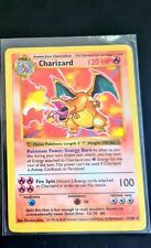 Shadowless Charizard Holo Base Set Pokemon Card WOTC, Played, PSA? #4/102