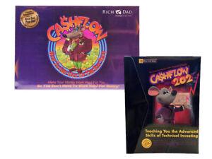 [Free Gifts] Cashflow 101 & 202 Rich Dad Board Game Money Toys Robert Kiyosaki