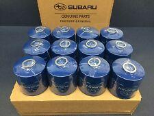 OEM Factory Subaru Engine Oil Filter & Crush Gasket (12 Pack) 15208AA12A Genuine