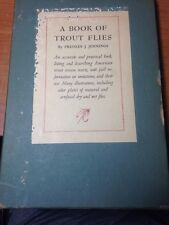 A BOOK OF TROUT FLIES By Preston J. Jennings 1935 First Crown Publishers Edition