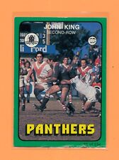 Scanlens 1978 Rugby League #25 John King