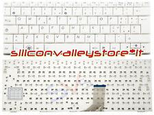 Tastiera ITA 0KNA-192IT0213053000509 Bianco Asus Eee PC 1001PX, 1005HA, 1005HA-B