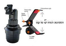 GA-UVM+ME-CM+STGN: Cup Holder Mount & Holder for Garmin Nuvi TomTom Magellan GPS