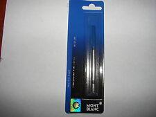 Montblanc Ballpoint Pen Refill Medium Pacific Blue