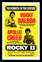 071  Vintage Movie Art Poster Rocky II  *FREE POSTERS
