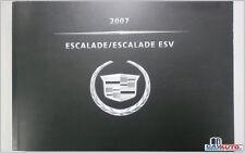 Libretto Uso e Manutenzione CADILLAC ESCALADE 6.200 V8 2007 2008 2009 2010 2011