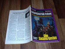 GESPENSTER KRIMI # 468 -- die Satans GmbH // Frederic Collins 1981