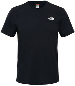 The North Face T-Shirt Mens Logo Short Sleeved Tee Cotton Crew Top