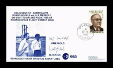 DR JIM STAMPS ESA SCIENTISTS SPACE ASTRONAUTS FRANCE COVER