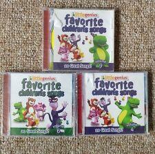 Baby Genius: Favorite Children Songs & Toddler Tunes 3 CDs Children's Learning