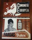 R14 > RIVISTA COMUNITA' EUROPEA N. 62 ANNO 1959