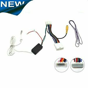 AFTERMARKET CAMERA ADAPTER FOR COROLLA 2013 APVTY12+ ADD CAMERA 2 FACTORY SCREEN