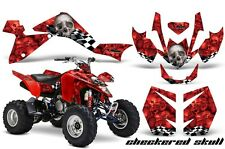 Suzuki LTZ 400 AMR Racing Graphic Kit Wrap Quad Decals ATV 2009-2012 CHKRD SKL R