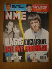 NME 1999 AUG 14 OASIS BONE HEAD QUITS BLUR STEREOPHONIC