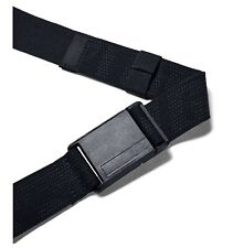 Under Armour UA Golf Stretch Magnetic Men's Black Nylon Poly Cut-to-Fit Belt