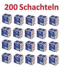 Streichhölzer Riesaer Zündhölzer 200 Schachteln 7600 Stück