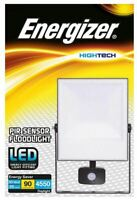 Energizer PIR Security Lights IP44 LED Outdoor Floodlight 6500K Motion Sensor
