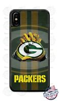 Green Bay Packers Football Gloves Phone Case Cover For iPhone Samsung Google