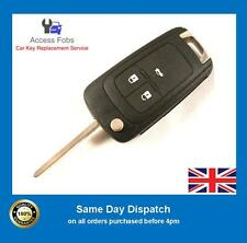 Genuine Vauxhall Insignia Astra J Flip remote key ID46 CHIP 3 Button