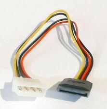 SATA Stromkabel 4 Pin Molex auf 15 pol S-ATA ATX Netzteil Adapter Kabel HDD SSD