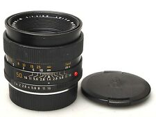 Leica Leitz Summilux-R 50mm 1:1.4 E55 lens Germany