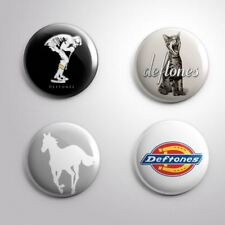 4 Deftones - Pinbacks Badge Button Pin 25mm 1'