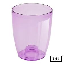 """Violet/Violet Qualité Rond Orchid Pot-5.1"""" Tall-Pot de fleur-Bonne Aération-robuste"""