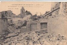 SAINT-CANNAT tremblement de terre 11 juin 1909 le clocher et les fermes