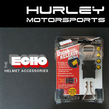 ECHO Quick Release Motorcycle/ATV/Snow Helmet Chin Strap - Black (0108-001)