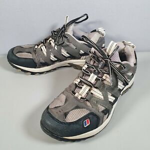 Berghaus Prognosis GTX Tech Hiking Shoes Grey Gore-Tex Vibram (UK Size 6 US 7.5)