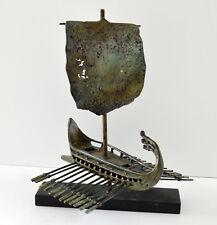 Trireme - Bireme - Penteconter - Bronze Item - Ancient Greek Ship - Unique piece