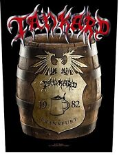 TANKARD beer barrel 2017 - GIANT BACK PATCH - official merchandise