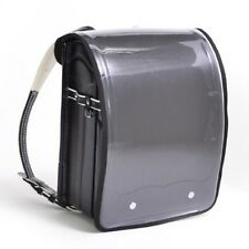 Cover Only! Clear Black A4 flat file type Randoseru school bag Free Shipping