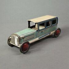 Jouet ancien - voiture limousine Penny toys en tole litho - allemagne - germany