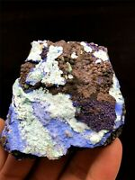 103g Natural Azurite Malachite Crystal Cluster Geode Rough Rare Mineral Specimen