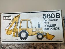 Gescha Case 580 B Backhoe Yellow Motor Version In Box