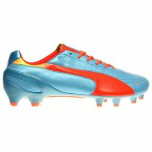 Puma Evospeed 1.2 Leather Firm Ground  Mens Soccer Cleats