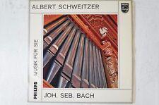 Albert Schweitzer Bach Orgel Pfarrkirche Günzbach Philips G03515L LP50