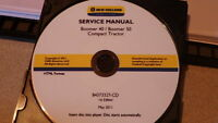 NEW HOLLAND BOOMER 40 50 TRACTOR SERVICE MANUAL CD CD6