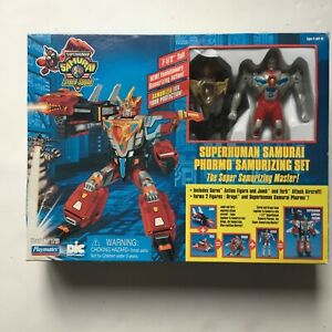 Superhuman Samurai Syber Squad Phormo Samurizimg Set
