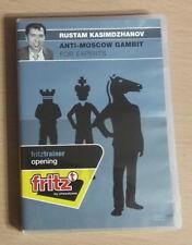 CBFT Rustam Kasimdzhanov Anti-Moscow Gambit Chessbase Fritztrainer DVD