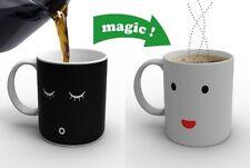 Morning Mug Heat Sensitive Color Change Coffee Milk Magic Mug Cup Gift Hot Tea